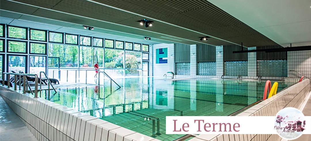 Venite a provare la nuova piscina alle Terme di Porretta